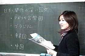 小学生クラスの授業風景です。
