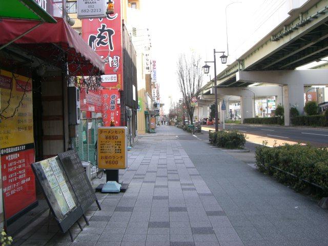 堀田駅へ向かって歩いてください。